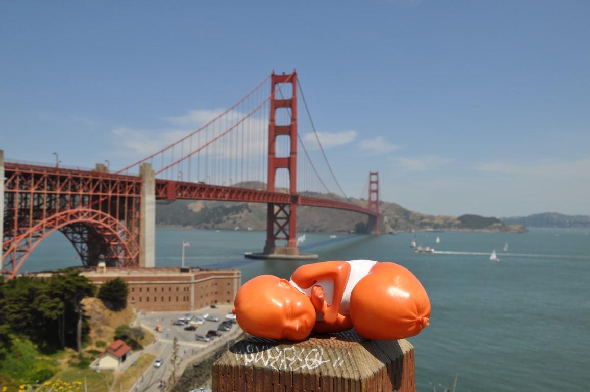 Hans Wurst, unsere 3D-Druck-Figur in San Francisco