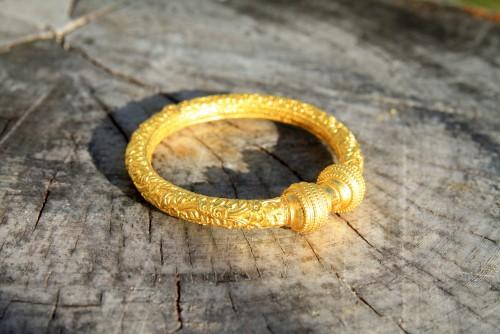 Gold-3D-Druck-Symbolbild