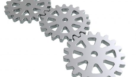 Zahnräder-3D-Druck-symbolbild